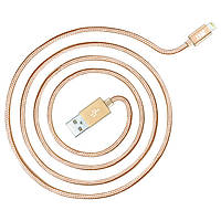Кабель USB (папа) = Apple Lighting JUST Copper Lightning USB Cable 0.5 м Gold (LGTNG-CPR05-GLD)
