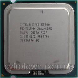 Процессор Intel Pentium dual core E5300 2x2.6 GHz S775
