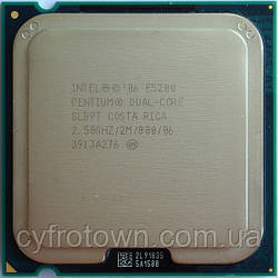 Процесор Intel Pentium dual core E5200 2x2.5 GHz S775