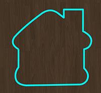 Вырубка кондитерская для пряника домик 1