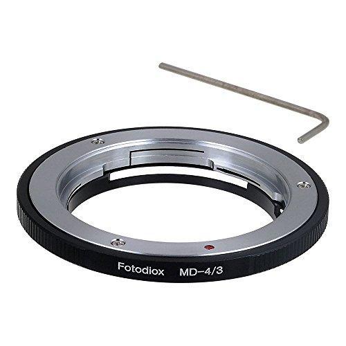 Адаптер Fotodiox MD-43 для объективов Minolta Rokkor (SR/MD/MC) к незеркальным камерам Olympus 4/3