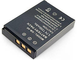 Батарея Amsahr BT-GE-GB40-1CT (GB-40) для цифровых камер General Electric E1035, E1235, E1050