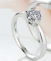 Кольцо Swarovski иллюзия бриллианта