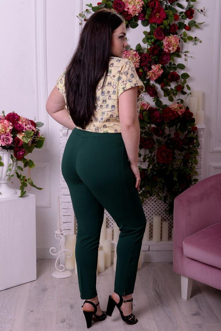 Женские брюки большого размера к-t10uk1304