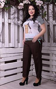 Женская футболка большого размера н-t10uk1309