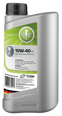 Моторное масло REKTOL 10W-40 HP (1 L)