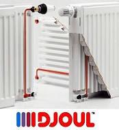 Радиаторы стальные DJOUL 22К 500х500 боковое подключение
