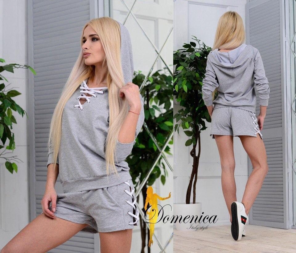 Женский летний костюм (шорты и кофта) t-t31st631