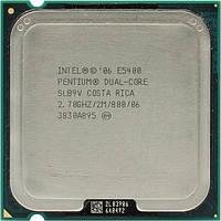 Процессор Intel Pentium dual core E5400 2x2.7 GHz S775