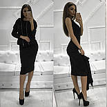 Женский костюм из ангоры: платье-миди и кофта (3 цвета), фото 6