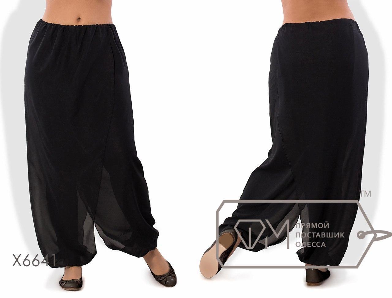 Модные женские штаны свободного кроя большого размера н-tauk51403