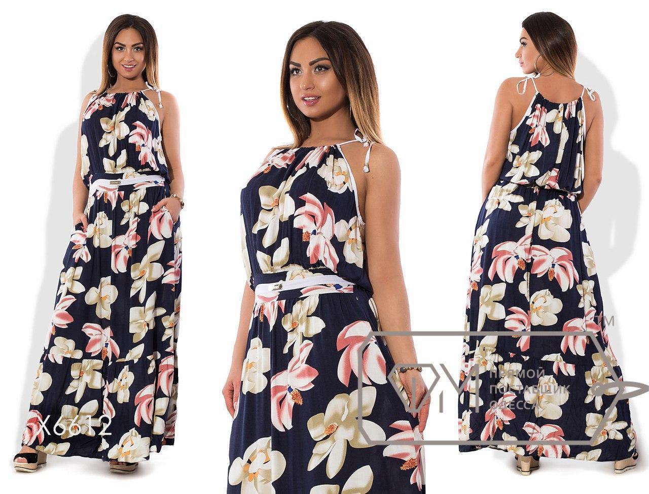 Женское платье большого размера н-tauk51411