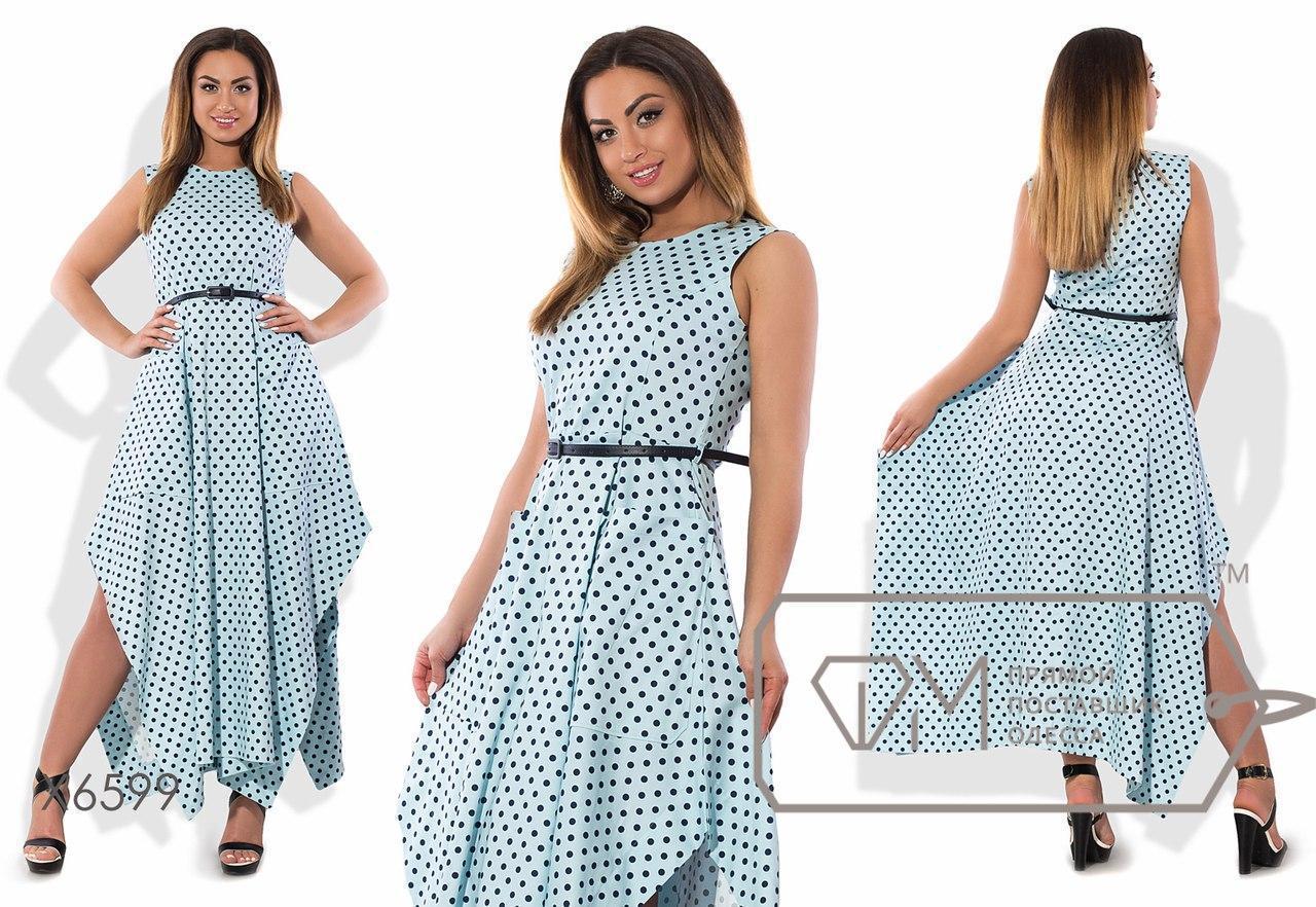 Модное женское платье большого размера н-tauk51415