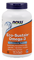 NOW Eco-Sustain Omega-3 180 softgels