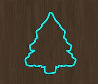 Вырубка для пряника ель 1 елка новогодние вырубки