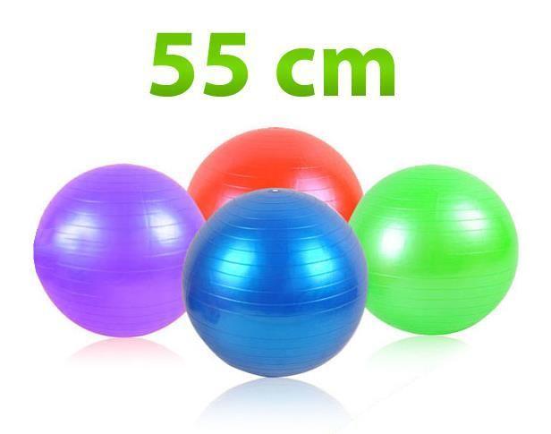 Фітбол, м'яч для фітнесу, м'яч гімнастичний 55 + насос