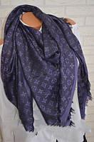 Женский платок Louis Vuitton Monogram (в стиле Луи Витон) фиолетовый 94cef68888b