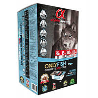 Alpha Spirit Only Fish 1,47 кг полувлажный корм для собак всех пород+ Подарок Alpha Spirit HAM BONE