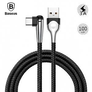 Кабель USB Type-C Baseus MVP Mobile game с угловым коннектором для зарядки и передачи данных CATMVP (1м)