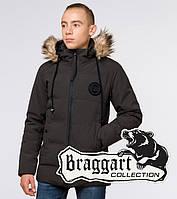 Подросток 13-17 лет    Куртка зимняя Braggart Teenager 25550 кофе