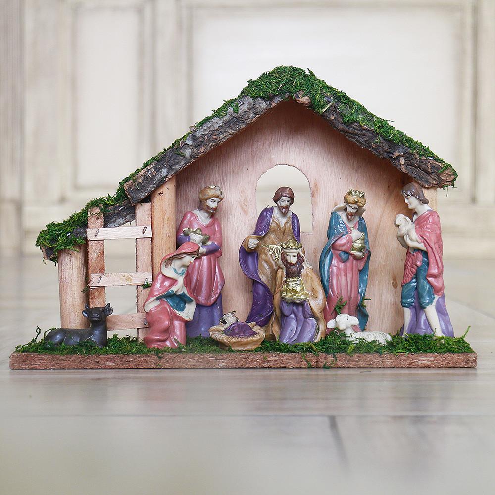 Рождественский вертеп 30см