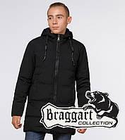 Подросток 13-17 лет    Куртка зимняя Braggart Teenager 25400 черная