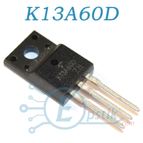 K13A60D, транзистор полевой N-Channel 600V 9.5A, TO220F