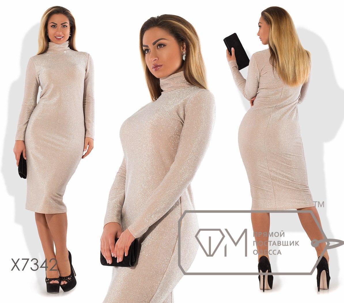 Платье-гольф большого размера ниже колена длиной fmx7342