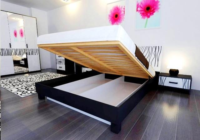 Кровать 180х200 Терра с подъемником и каркасом Миро-Марк