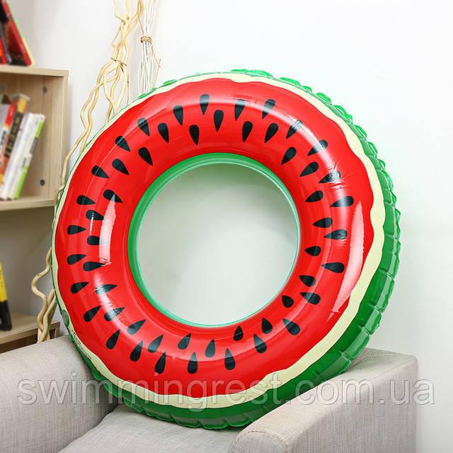 Надувной круг Арбуз для детей  80 см