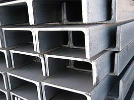 Швелер сталевий 8П