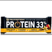 Протеиновый батончики Go On Protein 33% Zero Bar (Малина-Ваніль 50g)