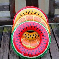 Надувной круг Арбуз для детей  70 см
