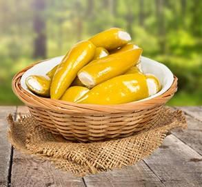 Маринованный македонский перец фаршированный сыром 220 г
