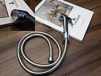Набор для биде, хром, шланг 120 см 5097534 Venezia Lux Shattaf