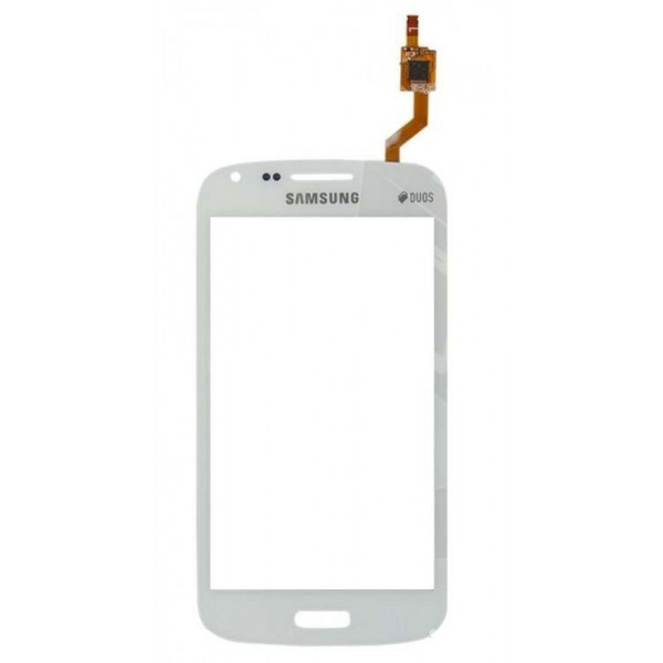 Сенсорный экран (тачскрин) Samsung I8262 Galaxy Core | I8260 белый оригинал