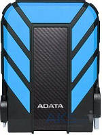 Жесткий диск внешний ADATA DashDrive Durable HD710 Pro 2 TB (AHD710P-2TU31-CBL) Blue