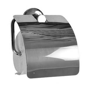 Туалетный бумагодержатель с широкой крышкой VERNANDI 8014