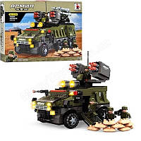Конструктор AUSINI 22704 Армия 822 деталей