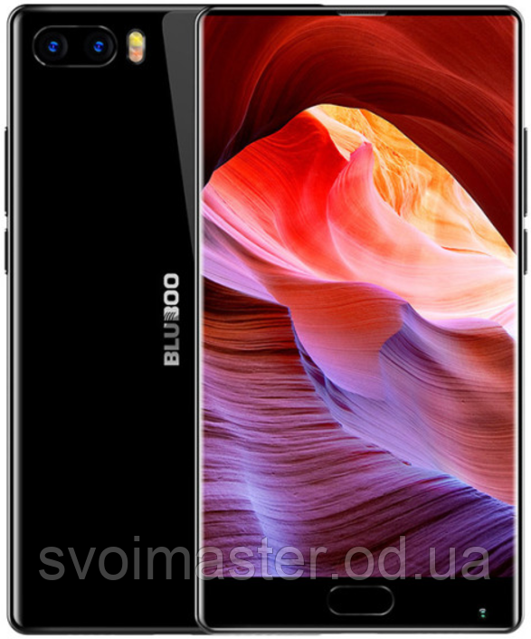 "Bluboo S1 black 4/64 Gb, 5,5"", MT6757, 3G, 4G, фото 1"