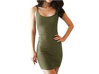 Обтягивающее Женское платье Magic M М Зеленый