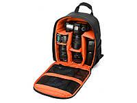 Водонепроницаемый рюкзак для зеркального фотоаппарата Tigernu  Оранжевый