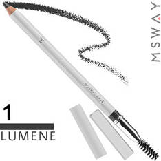 Lumene - Карандаш для бровей Eyebrow Pencil Тон 01 grey black