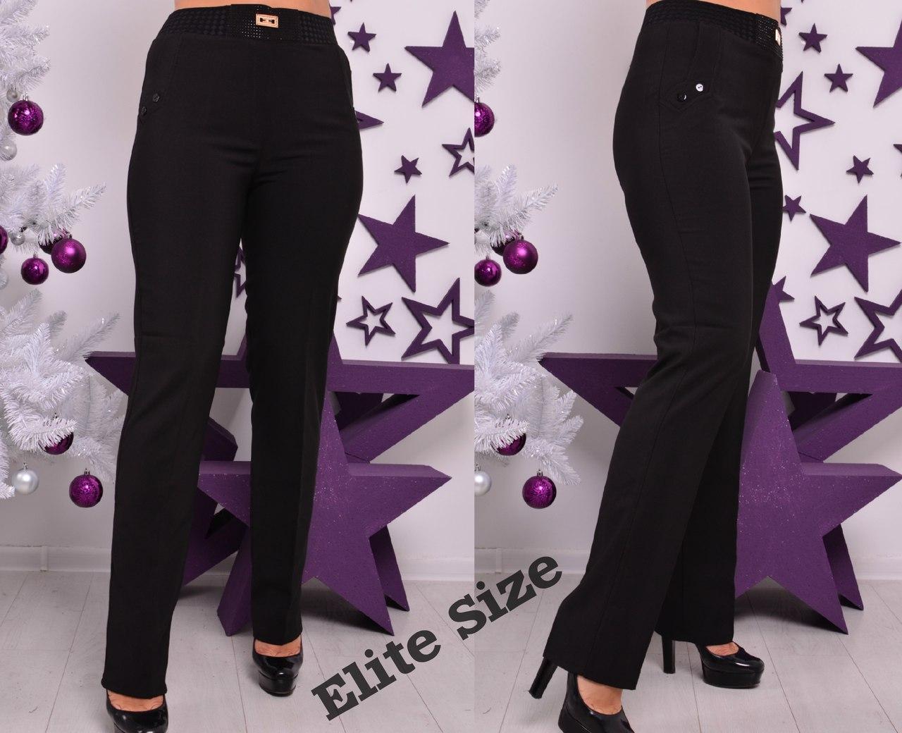 Женские классические брюки большого размера 6uk282