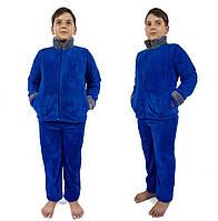 Детский домашний махровый костюм-пижама для мальчика 165