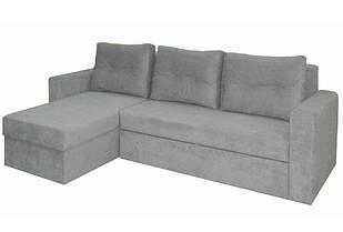 Кутовий розкладний диван в вітальню з натурального дерева Фаворит Скіф