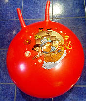 Мяч с рожками для фитнеса d 55 см, фото 3