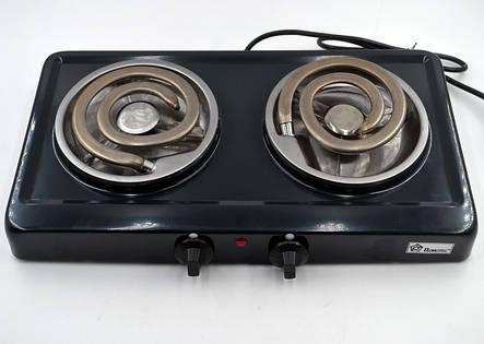 Электроплита на две конфорки Domotec MS-5532, фото 2