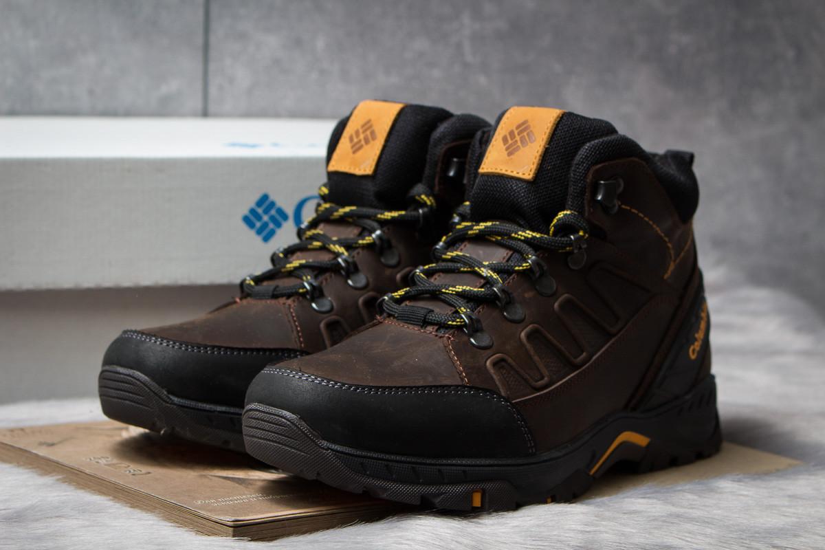 Зимние ботинки на меху  Columbia TRACK, коричневые (30702),  [  40 (последняя пара)  ]