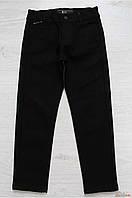Брюки черного цвета, утепленные для мальчика (122 см.)  A-yugi Jeans 2125000574929